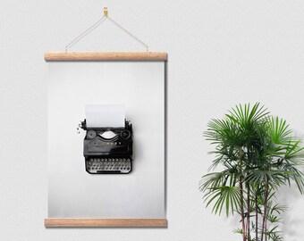 Vintage Typewriter Machine Canvas Ready To Hang