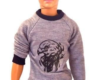 Ken doll clothes - Ken T-shirt, Ken top, Ken clothes, doll clothes, Barbie clothes