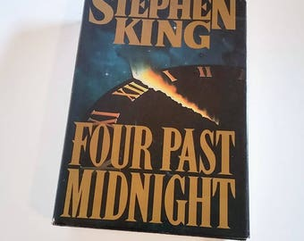 Four Past Midnight by Stephen King/ Hardcover Book Club Edition/ Sci-Fi