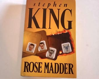 Rose Madder by Stephen King  Hardcover  Horror