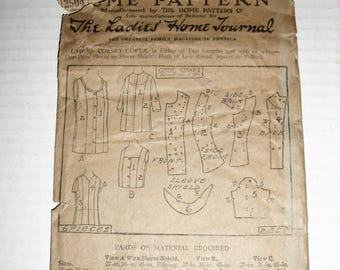 Ladies Home Journal Pattern 2504.  Antique Pattern.  Vintage Pattern.  Corset Cover.