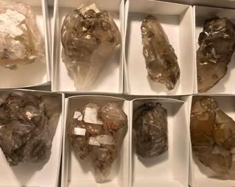 Various Jacare Quartz Specimens
