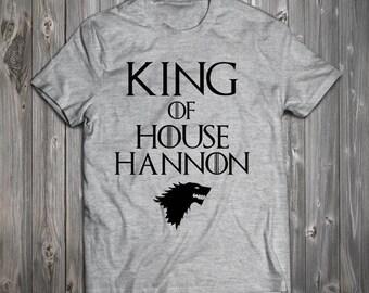 Custom House Hannon - Game of Thrones Tee RO307