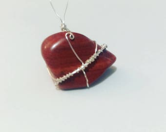 Red Jasper Wire Wrap