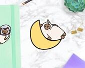 Space Cat Moon | DIECUT