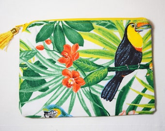TROPICAL EXOTIC JUNGLE pouch Kit