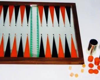 Vintage Ringo or Robin Backgammon Set 1974