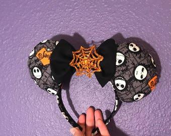 Jack skellington Halloween ears