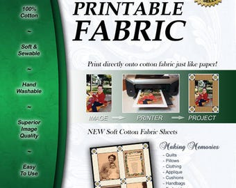 Premium Printable Fabric 25pk