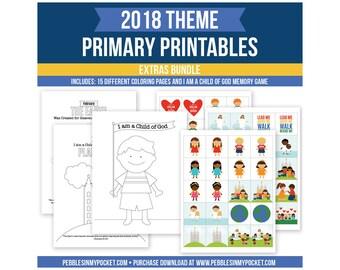 Primary 2018 Extras Bundle Digital Download