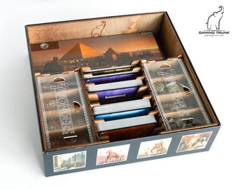 Organizer for 7 Wonders™ Board Game, 7 Wonders™ Insert, 7 Wonders™ Box, Board Game Organizer, Board Game Insert, Wooden Organizer