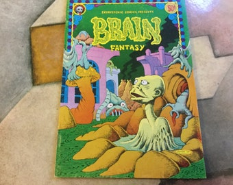 Brain Fantasy no 1  George Metzger 50 cents Last Gasp 1972 Berkeley