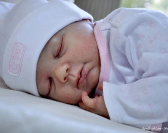 Sienna  Reborn Doll KIt by Denise Pratt      This is a blank kit and not a completed doll for sale.