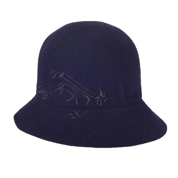 APOSTROPHE - Bleu - Feutre de lapin - Pliable et imperméable - La Tribu des Oiseaux