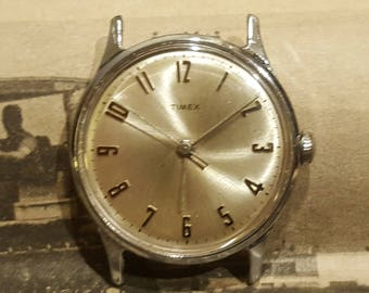 1968 Timex Manual Wind Mechanical Watch (Serviced and Polished)