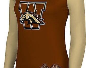 ProSphere Women's Western Michigan University Foxy Long Sleeve Tee (WMU)