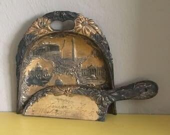 Vintage Crumber and Tray Souvenir of Washington DC