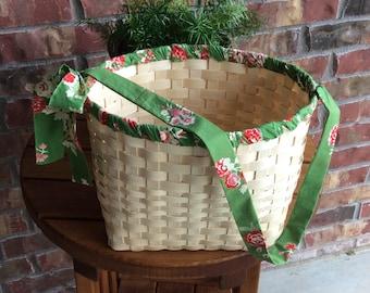 Garden Tote Basket