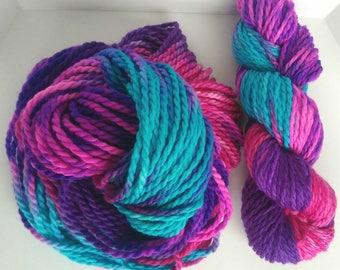 Hand Dyed 100% Superwash Bulky Merino Wool