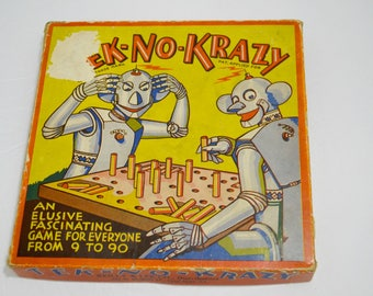 Tek-No-Krazy Peg Game from Reilly & Lee Co.