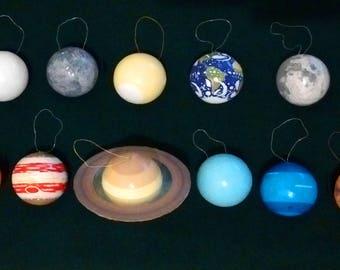 Planet Ornaments