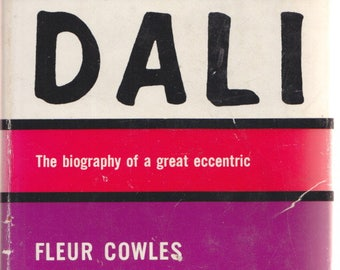 Case of SALVADOR DALI by Fleur COWLES 1959 1st Edition / biography of an Eccentric / Surrealism Surrealist