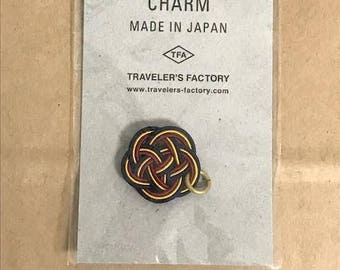 Traveler's Notebook Mizuhiki  Limited Charm 07100472 Navy MADE IN JAPAN Traveler's Factory Midori Designphil