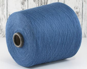 600g cotton yarn on cone, Italy/cotton yarn (Italy) on cone: Y001098