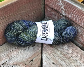 Hand Dyed Yarn - 100% Superwash Merino Wool Yarn - Worsted Weight