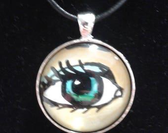 Sparkling Blue Eye w/ Gold B. ground