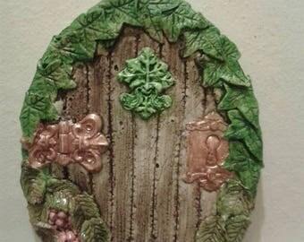 Green man fairy door