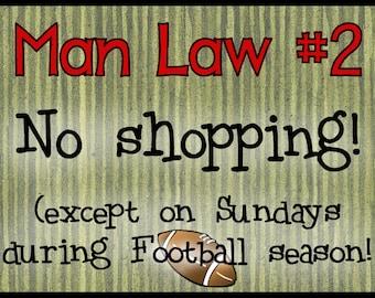 Man Law #2Magnet