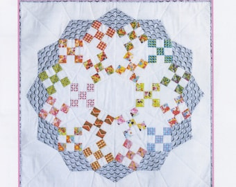 Sweet and Sour Wallhanging pattern packet from Sue Daleyenglish paper piecing