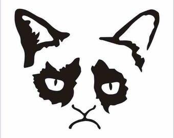 Grumpy Cat Decal