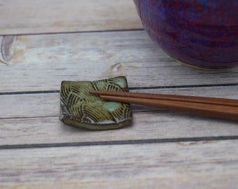 Handmade Chopstick Rest, Chopstick Holder, Utensil Holder, Chopsticks, Small Gift