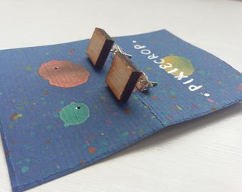 Wooden Square Studs