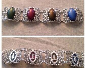 On Sale Vintage Sarah Coventry Carousel Link Bracelet