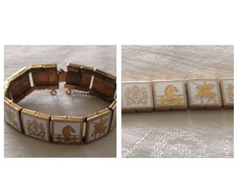 Anniversary Sale Vintage Link Bracelet