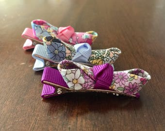 Baby hair clips girls hair clips baby bows girls hair bows flower bows hair clips baby barrettes girls barrettes non slip hair clips