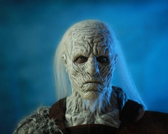 White Walker Latex Mask - Game of Thrones - GOT