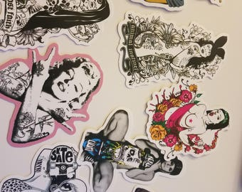 Black and white sticker pack!