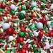 Edible Sprinkles - Classic Christmas Sprinkle Mix - Christmas Sprinkles - 4 oz