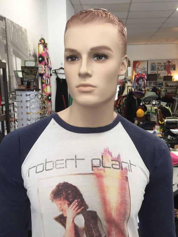 Vintage Robert Plant USA Tour 1983 Concert Tee T Shirt
