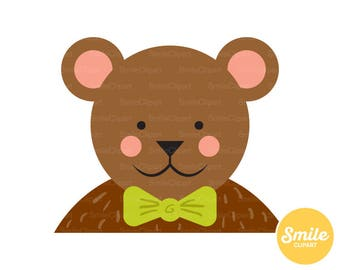 Teddy Bear Clipart Illustration for Commercial Use | 0243