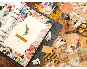 Background Stickers Set 1 - Planner, Journal, Craft, Scrapbooking, Decoration