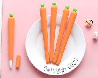 Lovely Carrot Pen - Gel Pen, Ink Pen, Stationery