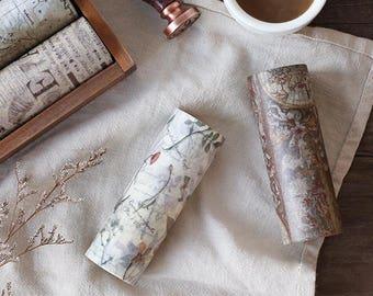 10cm Wide Washi Tape Set 4 - Planner, Journal, Craft, Scrapbooking,Decoration