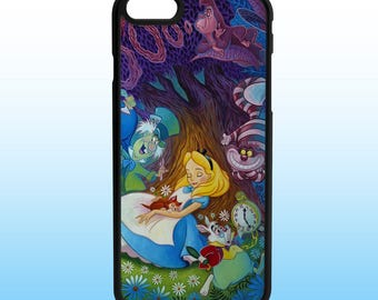 Alice Wonderland Iphone Case, Iphone 5, 6, 7, 8, X