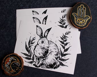 Bunny Print S