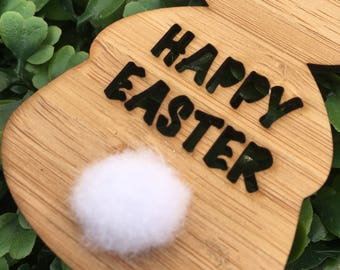 Bamboo Bunny Easter Gift Tags
